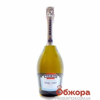 Вино игристое Маренго (Marengo) Semi-Dry Bianco  белое полусухое 0,75 л – ИМ «Обжора»
