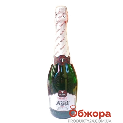 Вино игристое Таирово Асти сладкое белое 0,75 л – ИМ «Обжора»