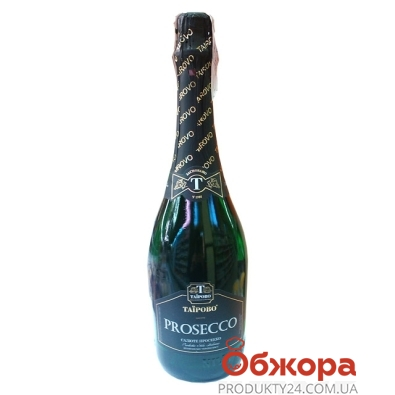 Вино игристое Таирово Prosecco белое брют 0,75 л – ИМ «Обжора»