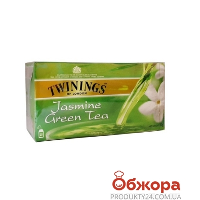Чай Твайнинг (Twinings) Зеленый жасмин 25 п – ИМ «Обжора»