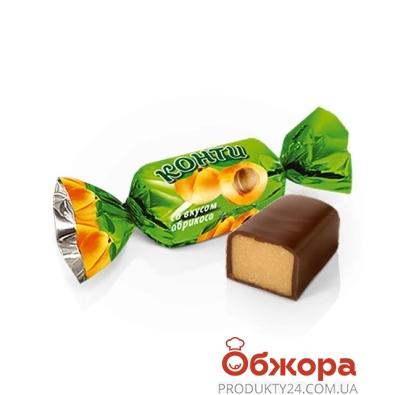 Конфеты Конти (Konti) со вкусом абрикоса вес – ИМ «Обжора»