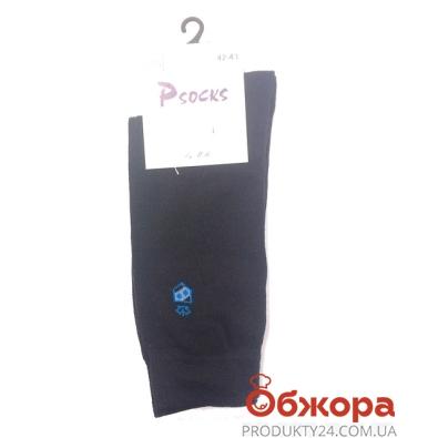 Носки Псокс (Psocks) Лого Корона черные 42-44р. – ИМ «Обжора»