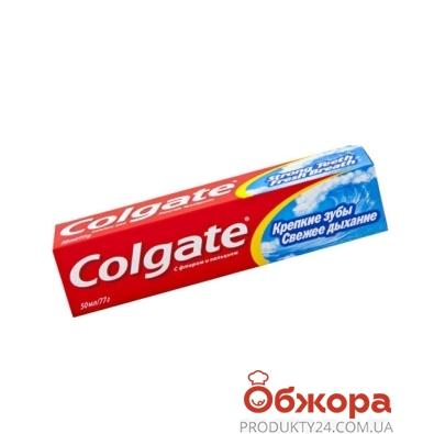 Зубная паста Колгейт (Colgate) Крепкие зубы 50 мл – ИМ «Обжора»