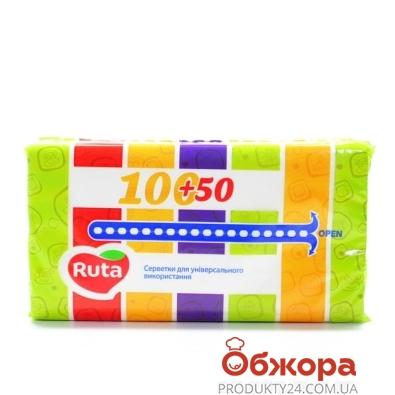Салфетки Рута (Ruta) косметические кор. декор 50 шт – ИМ «Обжора»