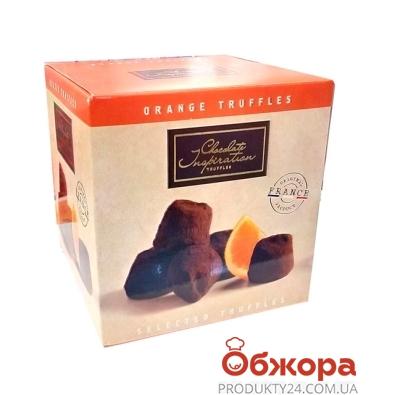 Конфеты Chocolate Inspiration трюфель с цедрой апельсина 200 г – ИМ «Обжора»