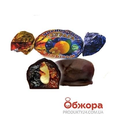 Конфеты Аметист чернослив и курога в шоколаде вес – ИМ «Обжора»