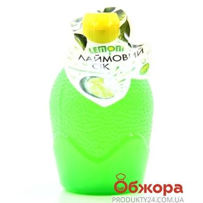 Сiк лайма Lemoni концентрат 220мл – ІМ «Обжора»