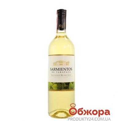 Вино Тарапака (Tarapaca) Sarmientos Совиньон блан белое сухое 0,75 л – ИМ «Обжора»