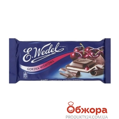 Шоколад Ведель (Wedel) молочный вишня 100 г – ИМ «Обжора»
