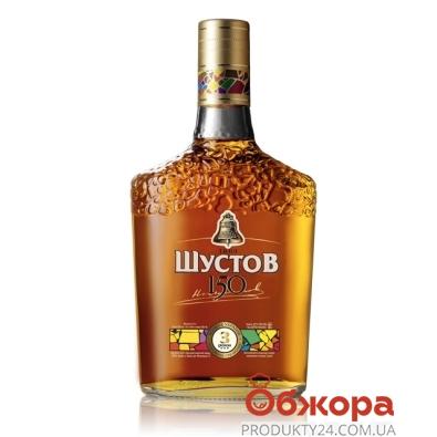 Бренди Шустов 150 3* 0,25л – ИМ «Обжора»