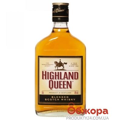 Виски Хайленд Квин (Highland Queen) 0,35 л – ИМ «Обжора»