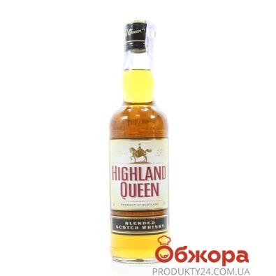 Виски Хайленд Квин (Highland Queen) 0,5 л – ИМ «Обжора»
