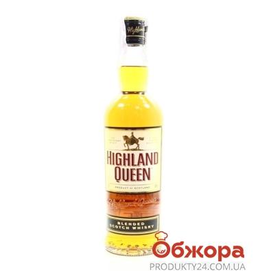 Виски Хайленд Квин (Highland Queen) 0,7 л – ИМ «Обжора»