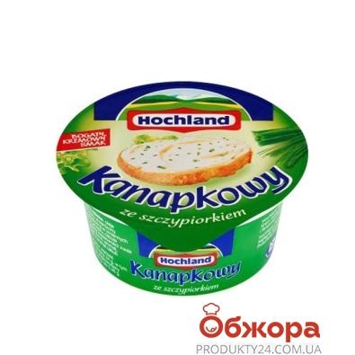 Сыр плавленый Хохланд Зелень с луком 150 г – ИМ «Обжора»