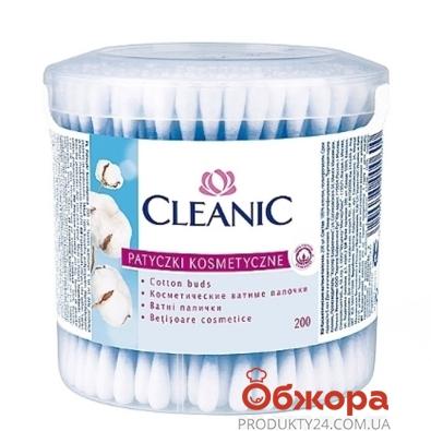 Ватные палочки Клиник (Cleanic) Классик 200 шт – ИМ «Обжора»