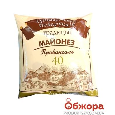 Майонез Беларусские традиции Лёгкий 40% 380 г – ИМ «Обжора»