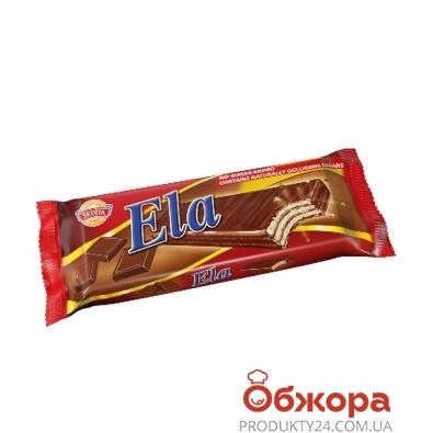Вафли Седита (Sedita) Ela шоколадный крем с подсластителем 25 г – ИМ «Обжора»