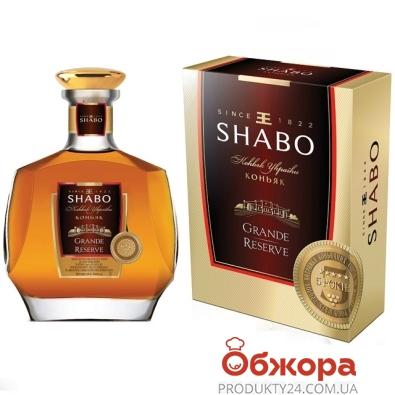 Коньяк Украины Шабо (Shabo) Гранд Резерв 5* 0,5 л – ИМ «Обжора»