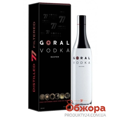 Водка Горал (Goral) Vodka Master 0,7 л – ИМ «Обжора»