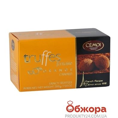 Конфеты Семой (Cemoi) Трюфель кусочки апельсина 200 г – ИМ «Обжора»