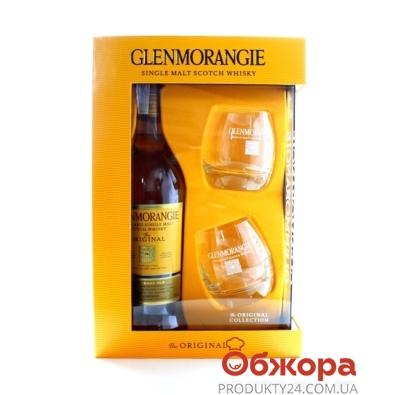 ZZZВіскі Гленморанж Оригінал 0,7л. + 2 склянки Набір – ІМ «Обжора»