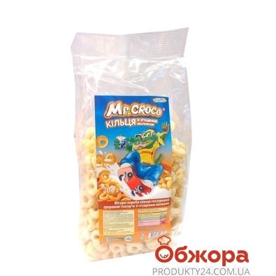 Кукурузные колечки Золотое Зерно mr.Croko Сгущенка 200 г – ИМ «Обжора»