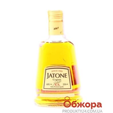 Коньяк Таврия Жатон 3* VS 0,25л – ИМ «Обжора»