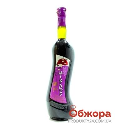 Напиток винный Микадо (Mikado) Черная смородина красный 0,7 л – ИМ «Обжора»