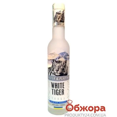 Водка Белый тигр (White Tiger) 0,5 л – ИМ «Обжора»
