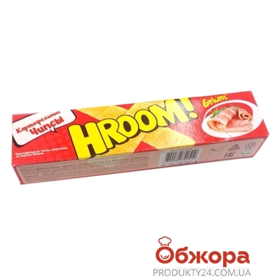 Чипсы Хрум Бекон 50 г – ИМ «Обжора»