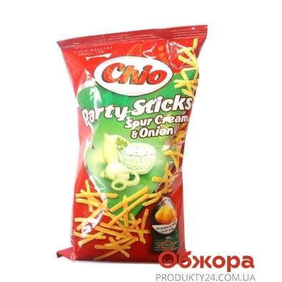 Картофельная соломка Чио (Chio) Party Сметана лук 70 г – ИМ «Обжора»