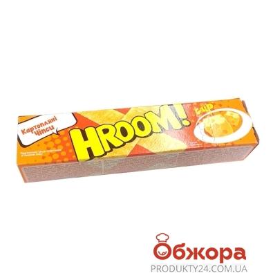 Чипсы Хрум (Hroom) Сыр 50 г – ИМ «Обжора»