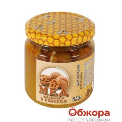 Мед Таврический с орехом 250 г – ИМ «Обжора»