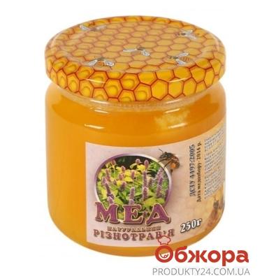 Мед Таврический разнотравье 250 г – ИМ «Обжора»