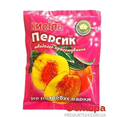 Кисель Ласочка Персик 90 г – ИМ «Обжора»