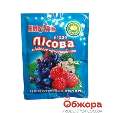 Кисель Ласочка Лесная ягода 90 г – ИМ «Обжора»