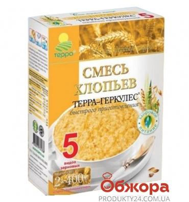 Хлопья Терра 5 злаков 800 г – ИМ «Обжора»