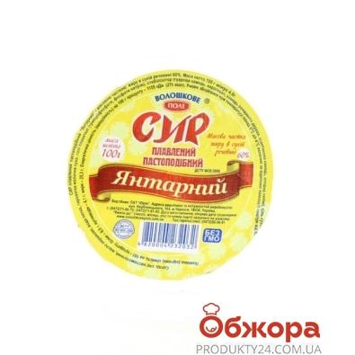 Сыр плавленый Волошково поле Янтарный 100 г 60% – ИМ «Обжора»