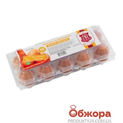 Куриное яйцо Фермерское С (2 кат.) 10 шт – ИМ «Обжора»