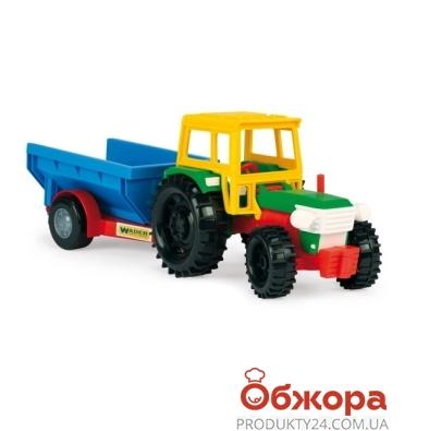 Игрушка Тигрес Трактор с прицепом – ИМ «Обжора»