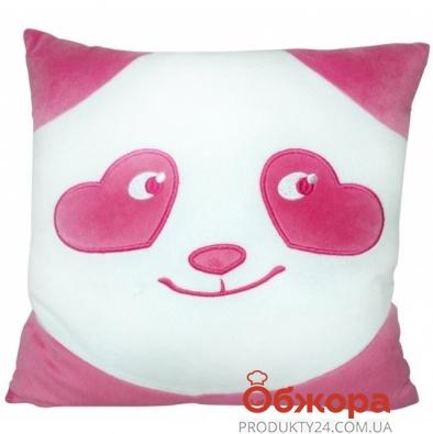 Подушка Тигрес Панда смайл влюбленный – ИМ «Обжора»