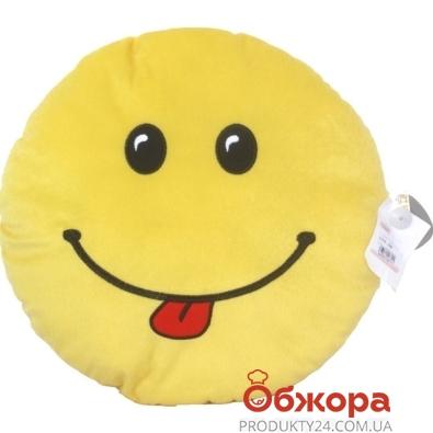 Подушка Тигрес Смайл желтый – ИМ «Обжора»