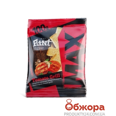 Сухарики Флинт MAX томаты гриль 100 г – ИМ «Обжора»