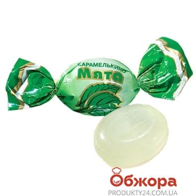 Конфеты Рошен (Roshen) карамелькино Мятная вес – ИМ «Обжора»