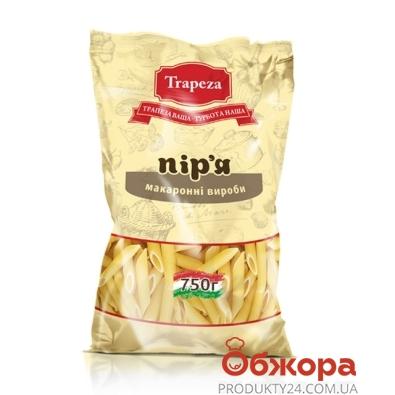 Макароны Трапеза (Trapeza) перья 750 г – ИМ «Обжора»