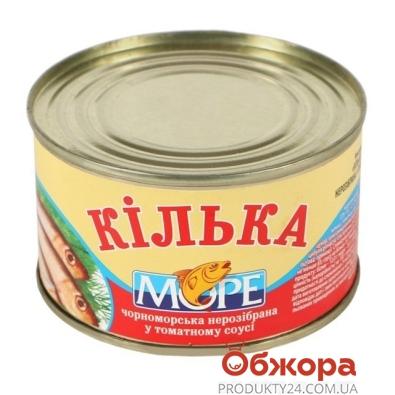 Килька Море в т/с  с фасолью 230 г – ИМ «Обжора»