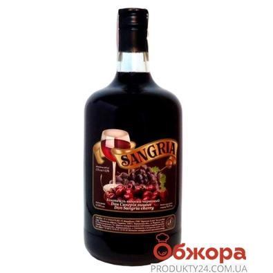 Коктейль винный Дон Сангрия (SANGRIA) Вишня красное 0,75 л – ИМ «Обжора»
