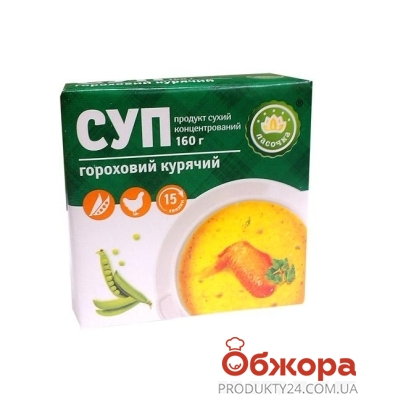 Суп гороховый Ласочка куриный 160 г – ИМ «Обжора»