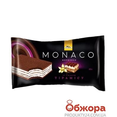 Мороженое Три Медведя Monaco Тирамису, 80 г – ИМ «Обжора»