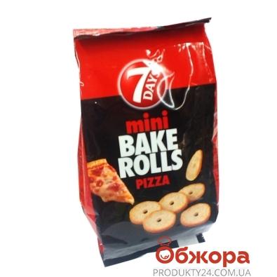 Сухарики Бейк Ролз 7 Days (7 Дейз) пицца 80 г – ИМ «Обжора»